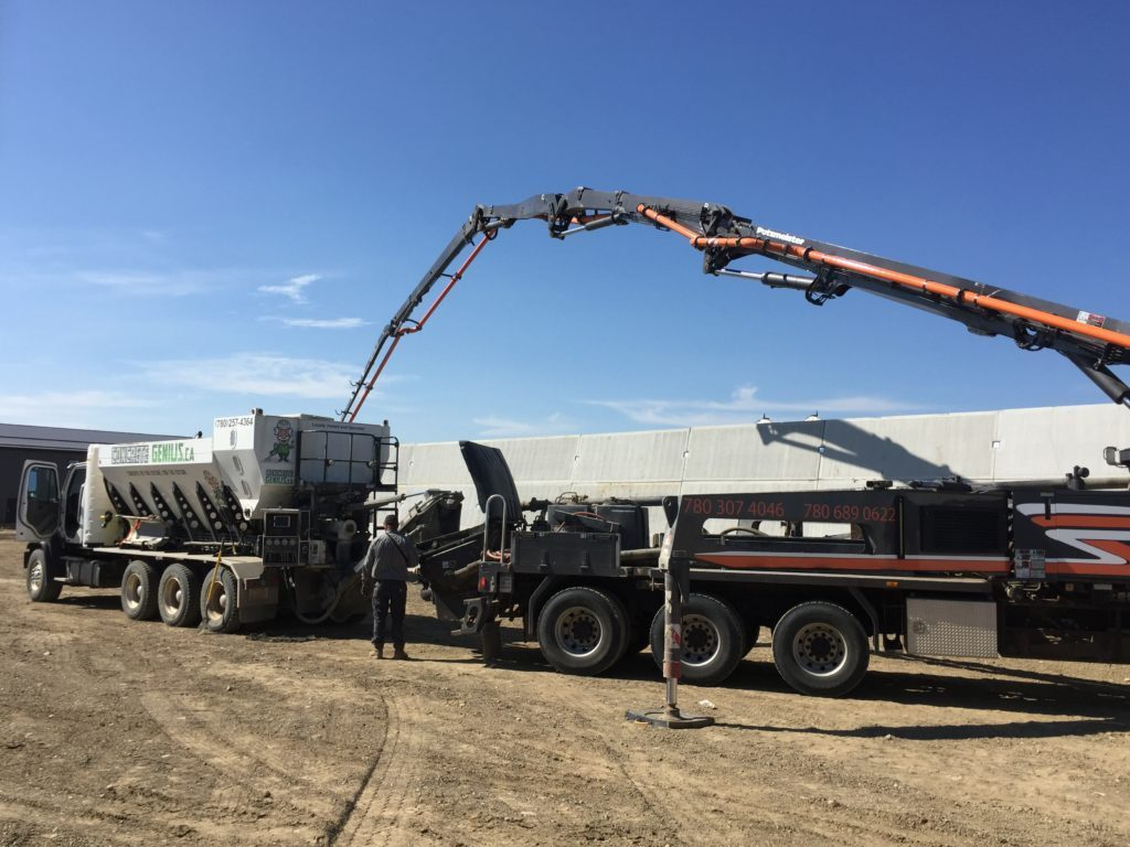 concrete genius stony plain - concrete silage pit projects