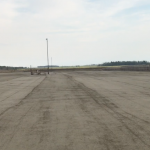roller compacted concrete in feedlot hard surfacing